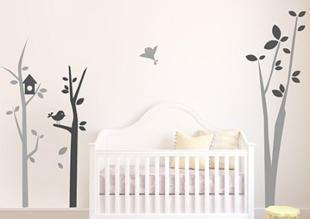 Best 25 stickers arbre chambre b b ideas on pinterest - Stickers chambre bebe arbre ...