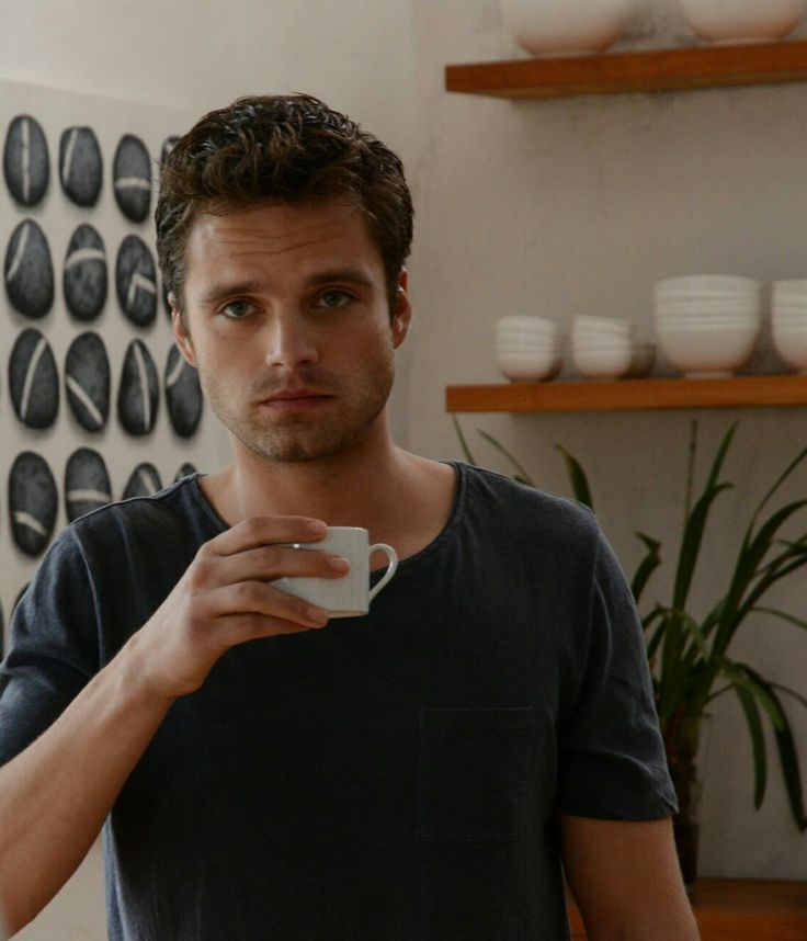 Sebastian Stan (Labyrinth). I swear he looks like Peeta Mellark (Josh Hutcherson) in this photo!