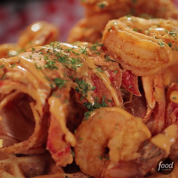 Deep-Fried Lobster with Waffles will take your breath away!