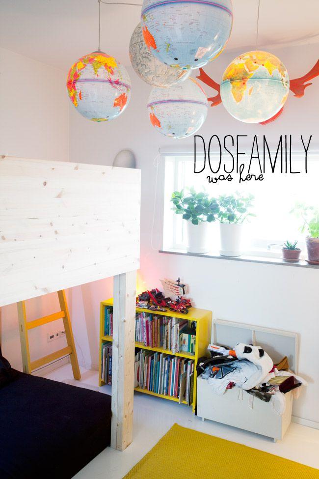 dosfamily-outvisitng-globes | world globe lamp... for when he's older!! V