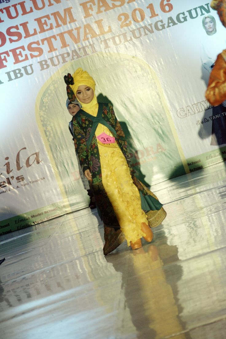 Casual batik hijab competition #mykeey #kidsmodel