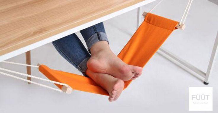 Teil der Woche: Tischhängematte für die Füße - Geschnackvoll