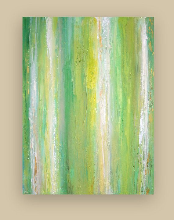 Acrylic Abstract Painting Fine Art on Gallery by OraBirenbaumArt