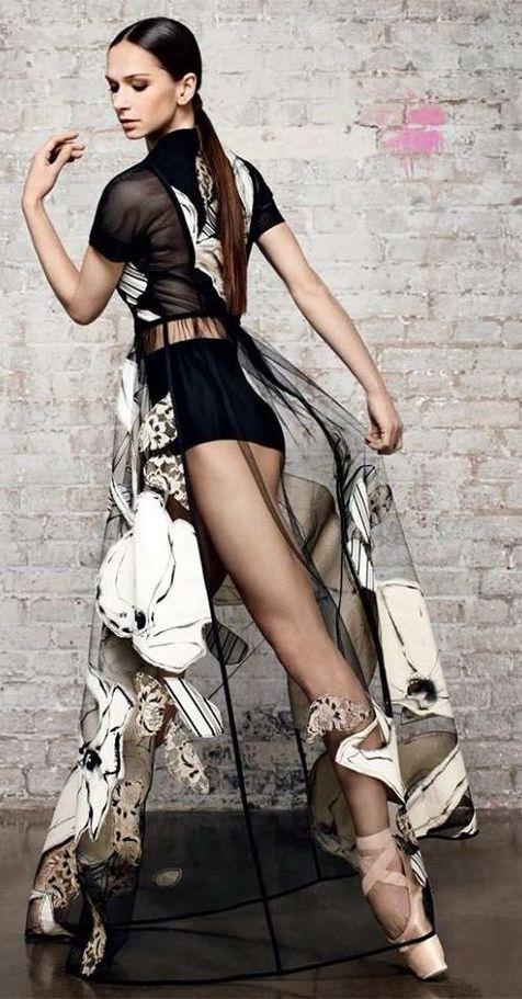 Polina Semionova - Harper's Bazaar, February 2014 - Photo by Jason Kim [Must check this board...]