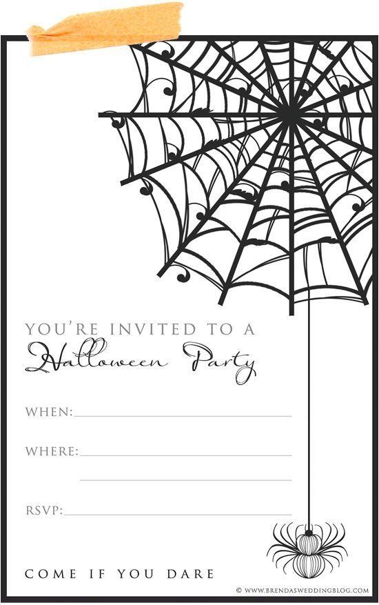 best 20+ halloween birthday invitations ideas on pinterest, Invitation templates