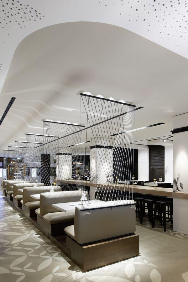 Holyfields Restaurant, Frankfurt, Germany by Ippolito Fleitz Group Architects