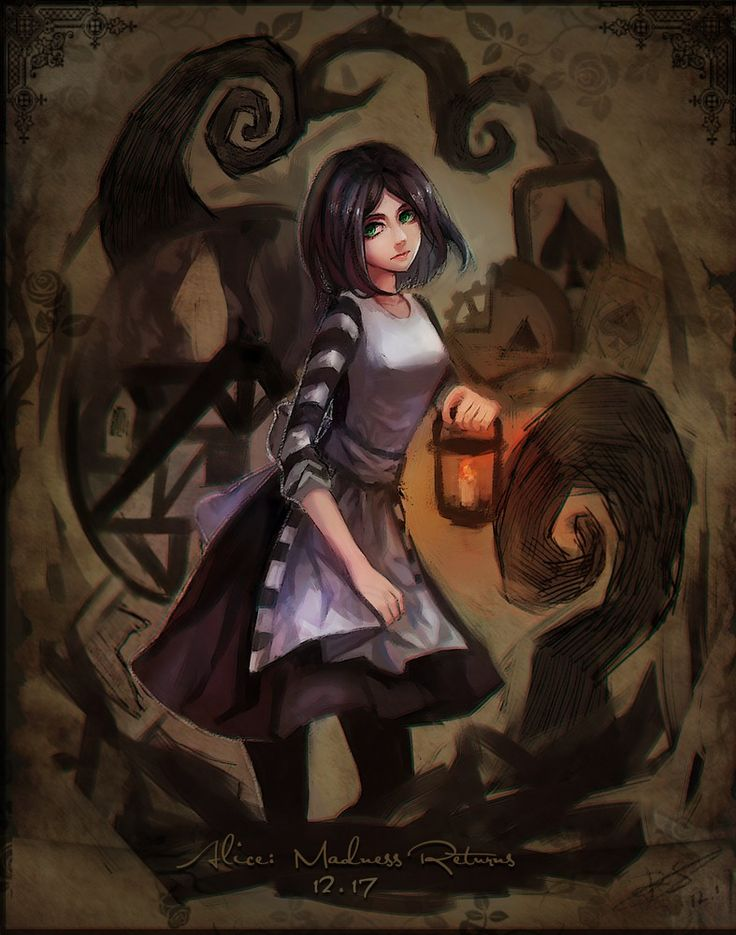 alice madness returns зонт