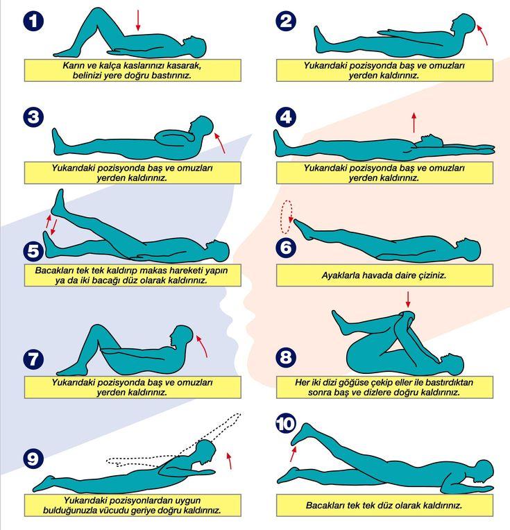 Bel Fıtığı İçin Egzersiz - http://www.bayanlar.com.tr/bel-fitigi-icin-egzersiz/
