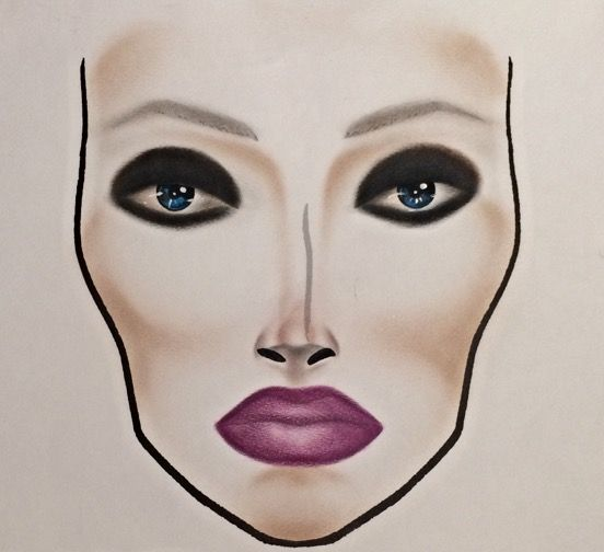 MACnificent Me! inspired facechart