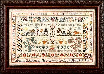 Old Cross Stitch Samplers | Moira Blackburn : The Silver Needle, Fine Needlecraft Materials
