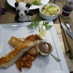 Mediterranes Lachsfilet, Ratatouillegemüse, Bratkartoffeln, Restaurant, Ihlsee, Rezension, Bad Segeberg