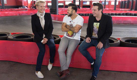 Programa Xuxa desta segunda na Record tem corrida de kart com Marcos e Belutti - Cabine Cultural
