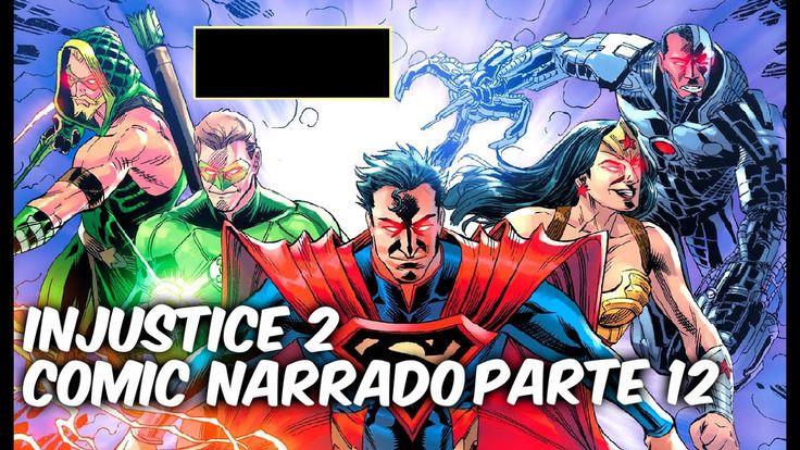 "INJUSTICE 2 COMIC NARRADO PARTE 12 ""LAS MENTIRAS"" @comics Tj"