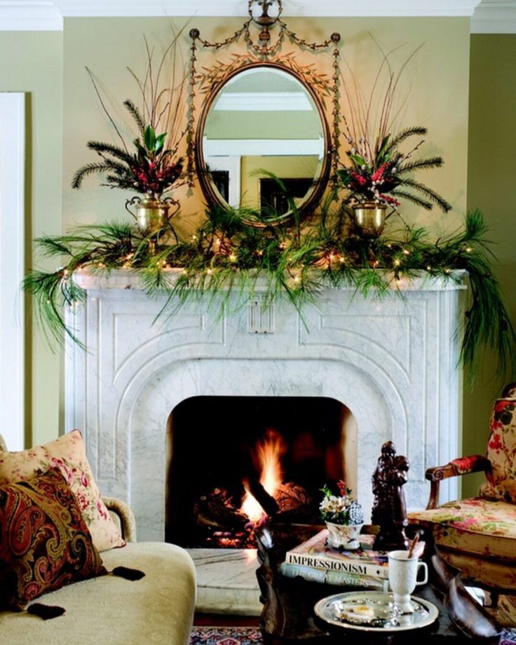 13 gorgeous christmas mantle ideas fireplace