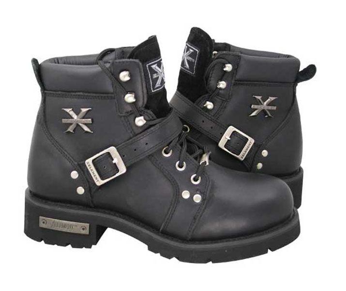 ladies' biker boots