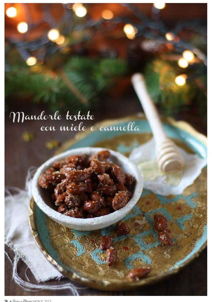 Mandorle tostate con Miele e Cannella