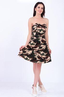 Detayları Göster Kamuflaj Elbise