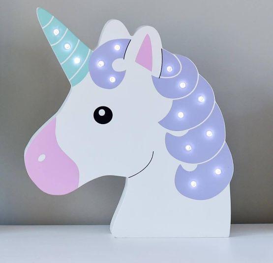 Resultado de imagen para numero 2 decorado de unicornio