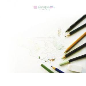 Canson 1557 Beyaz Resim  Çizim Kağıdı 200 gr. A3