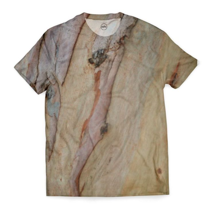 'Eucalyptus tree bark' T-Shirt by annalemos on miPic