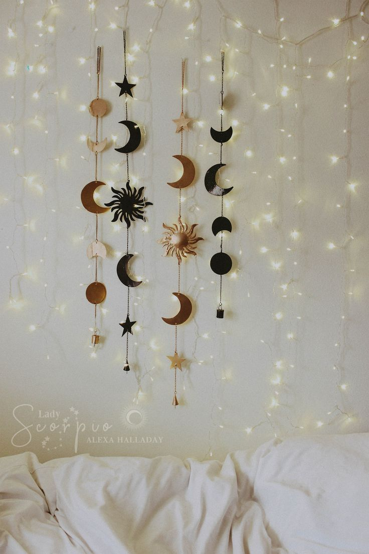 Celestial Wall Hanging Wall Decor Bedroom Hanging Wall Decor Boho Wall Decor