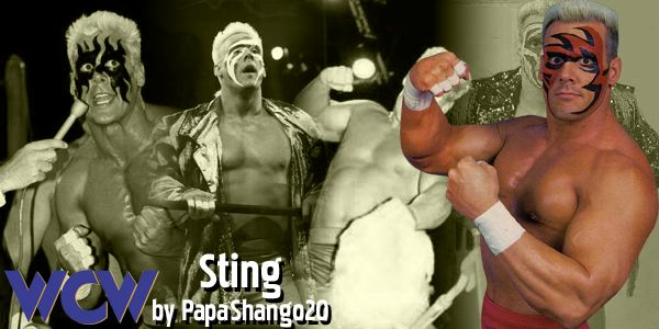 003 - Early 90's Sting WCW by PapaShango20.deviantart.com on @deviantART