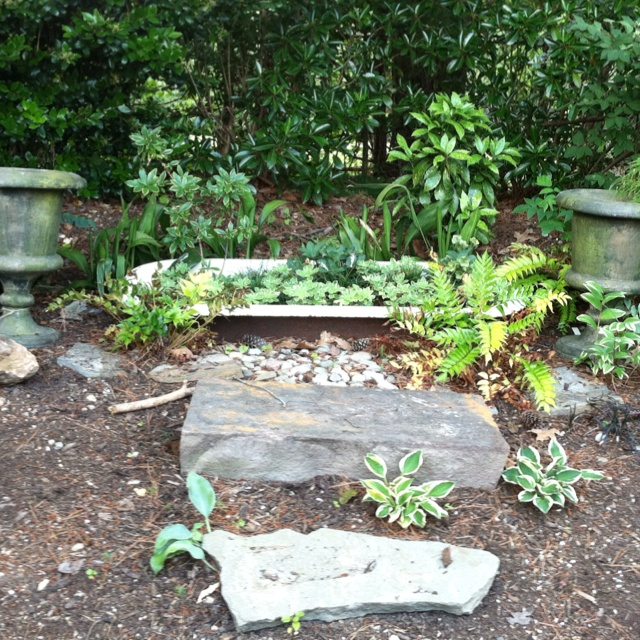Idea For A Sloped Area In The Garden. Love This Look