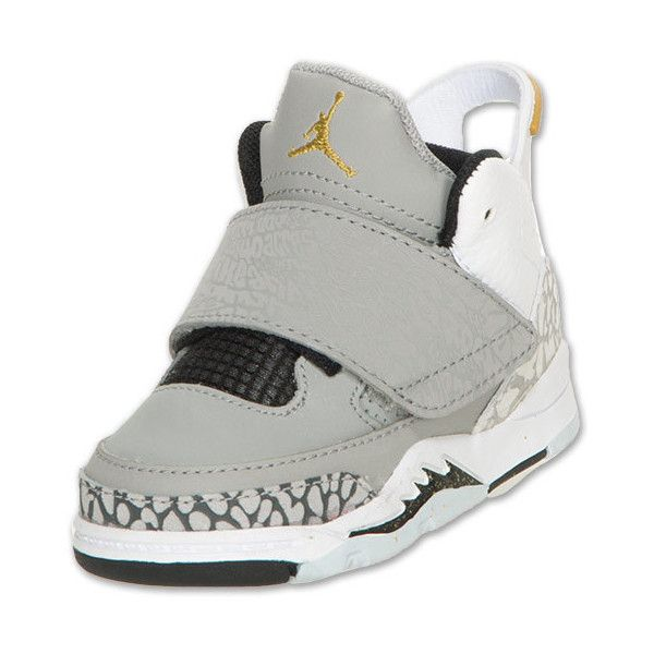 Jordan Son of Mars Toddler Basketball Shoes ($50) ❤ liked on Polyvore  featuring baby