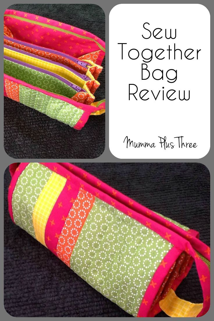 Review of sewing my first Sew Together Bag | Mumma Plus Three