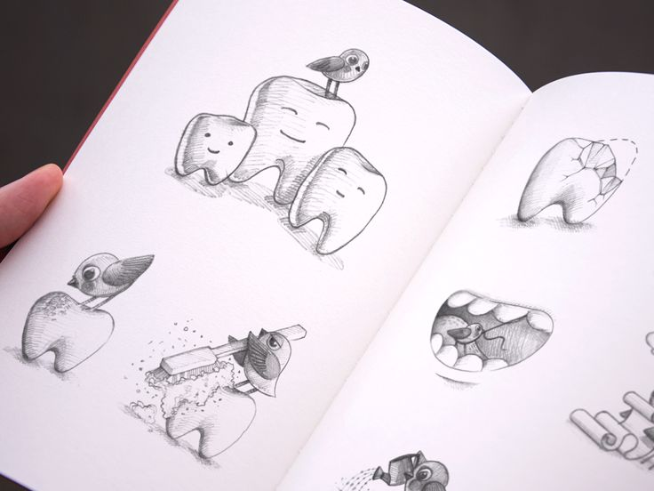 Selection of pencil sketches for app icons and illustrations by Ramotion http://ramotion.com