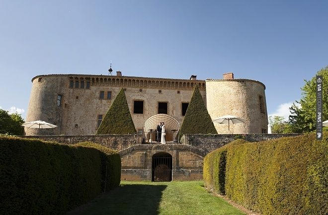 13th century chateau wedding in France complete with those pointy hedges!   CHECK OUT MORE IDEAS AT WEDDINGPINS.NET   #weddings #weddinginspiration #inspirational