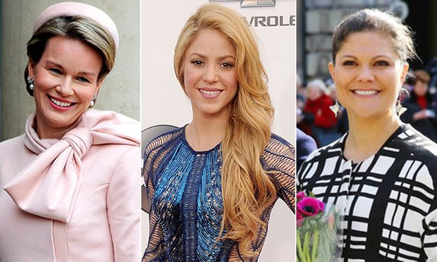Shakira, Princess Victoria and Queen Mathilde team up for United Nations