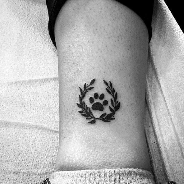 70 Dog Paw Tattoo Designs für Männer – Hunde Ideen für Druckfarben – Tattoo