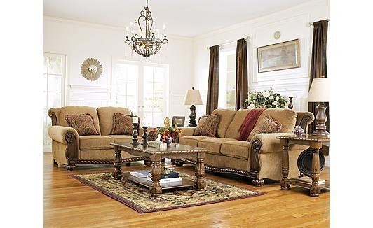 Ashley Furniture, Burnham - Amber Sofa