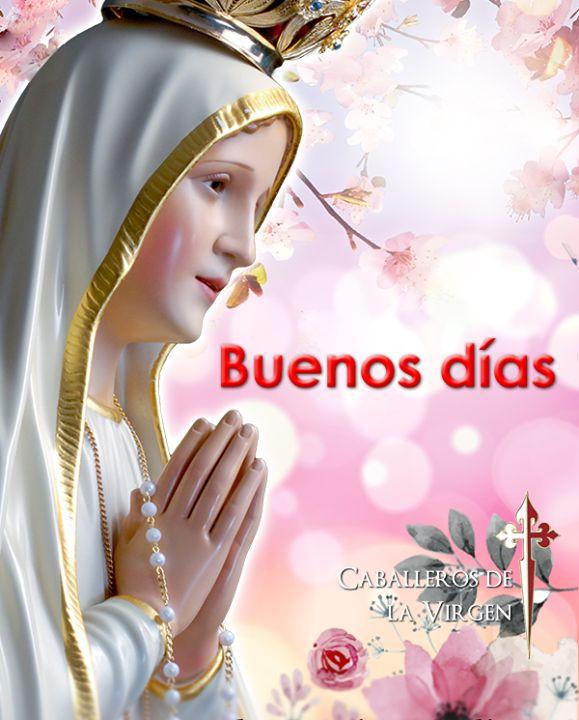 Que Nuestra Señora cuide de su día le proteja guarde y ampare siempre en sus decisiones su trabajo y su vida.