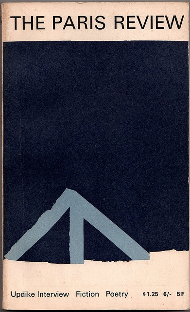 Cover design by Emilio Theler. The Paris Review, 45 (Winter 1968)