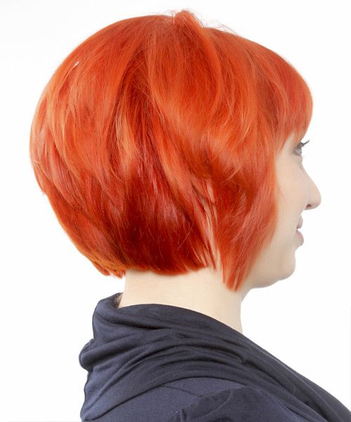 Casual Short Straight Hairstyle   Hairstyles 2014