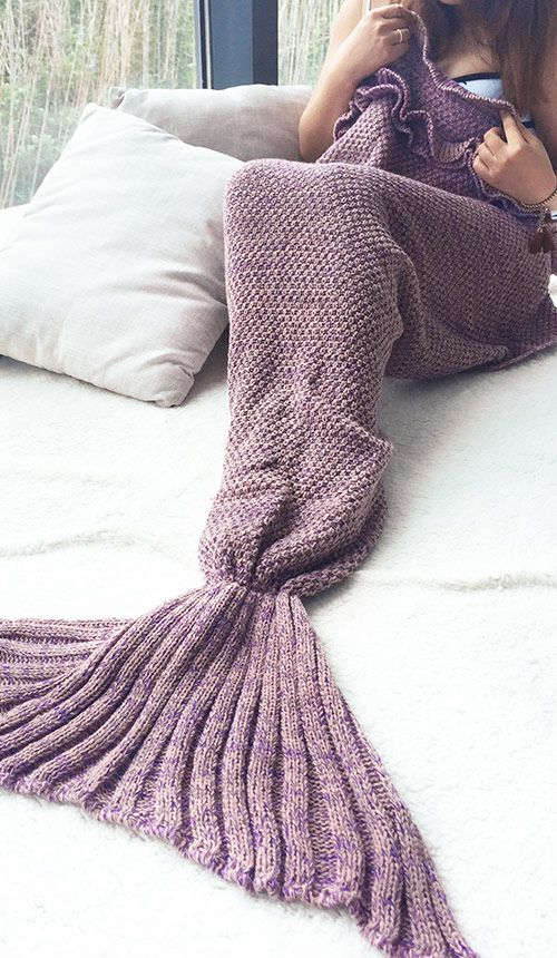 Big Sale, $28.99! Short Shipping Time! Easy Return + Refund! You know you always want to look your best even at home! So bring this elegant throw on mermaid blanket along!! Its mermaid design turns you into a beauty at any time. Have fun for lazy days. Start it at Cupshe.com