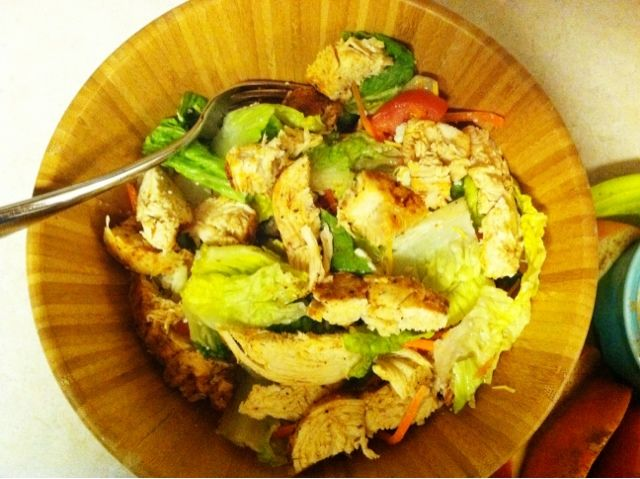 Zaxby s salad menu pictures to pin on pinterest thepinsta for Zaxby s the house zalad garden
