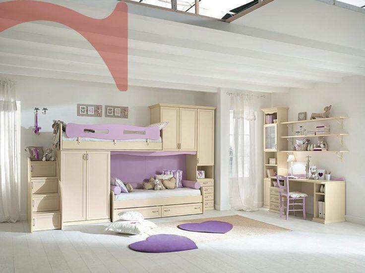 159 migliori immagini kids room su pinterest camere per - Camere bambini design ...