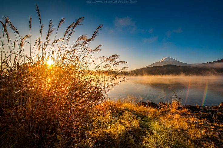 500px / Photo Fujiyama sunrise by Coolbiere. A.