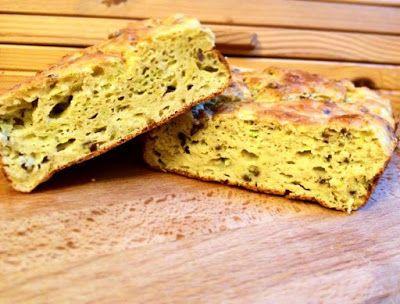 Light paleo cukkinis lenmagos kenyér (gluténmentes, laktózmentes, élesztőmentes)