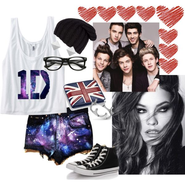 """""""Loving 1D"""" by sarahisfashion on Polyvore"""