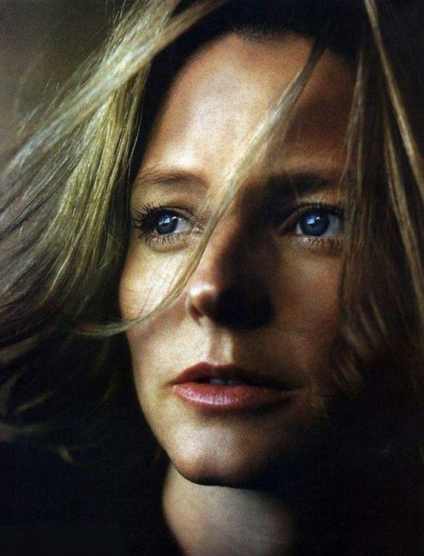 Jodie Foster---art, portrait, strong, woman, female, actress, versatile, personality, celeb, famous