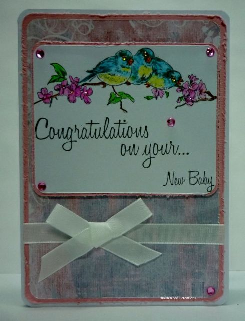 BaRb'n'ShEll creations - Baby cards, Kaszazz - BaRb
