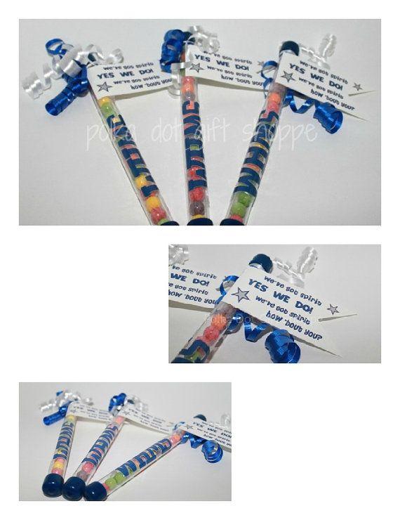 Cheerleading Spirit Sticks DIYCheer by PolkaDotGiftShoppe on Etsy, $3.50