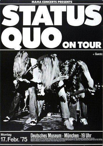 status quo posters - Google zoeken