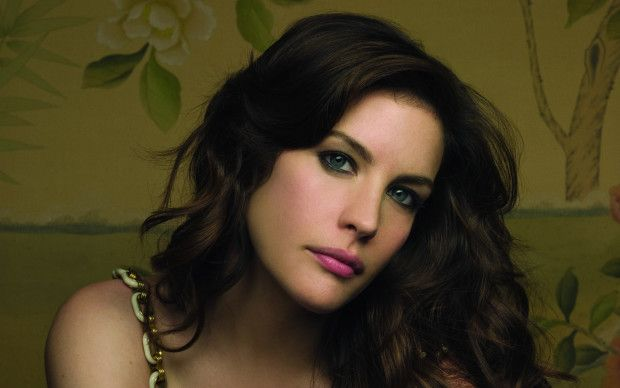 Liv Tyler, daughter of Steven Tyler and Bebe Buell