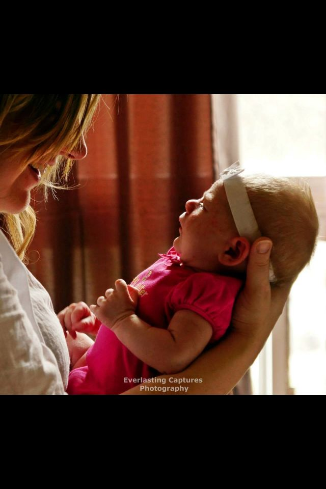 Baby Emma and Mommy