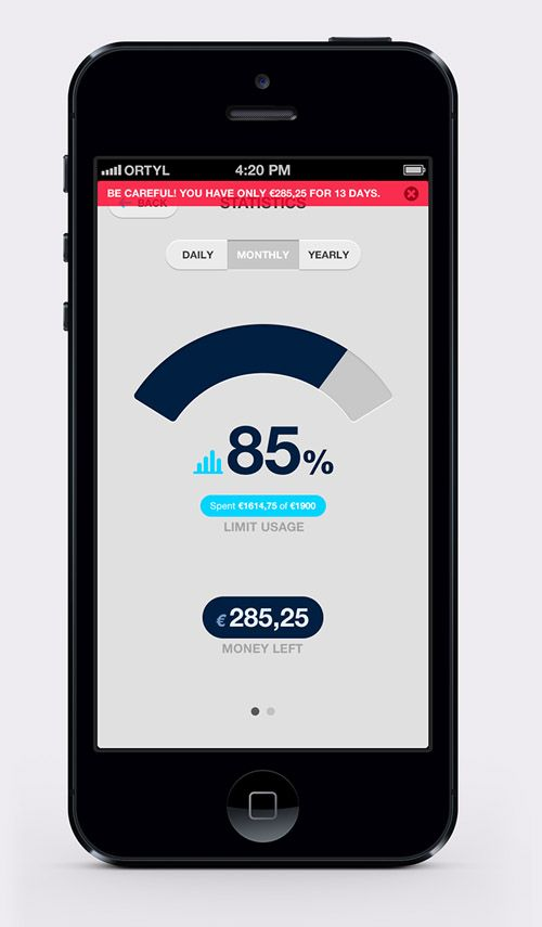 50 Flat Mobile UI Design with Remarkable User Experience-32